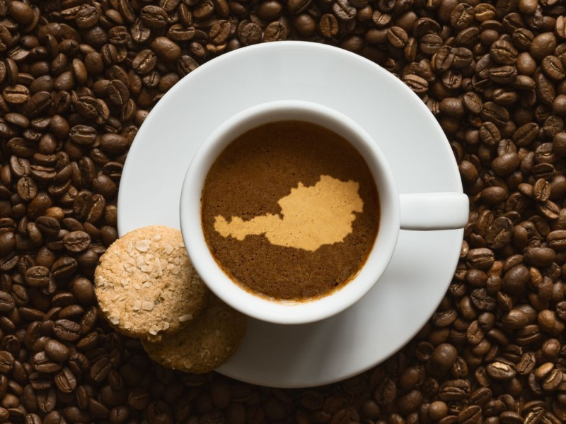 Österreichischen Kaffeespezialitäten: Einen Verlängerten, bitte!