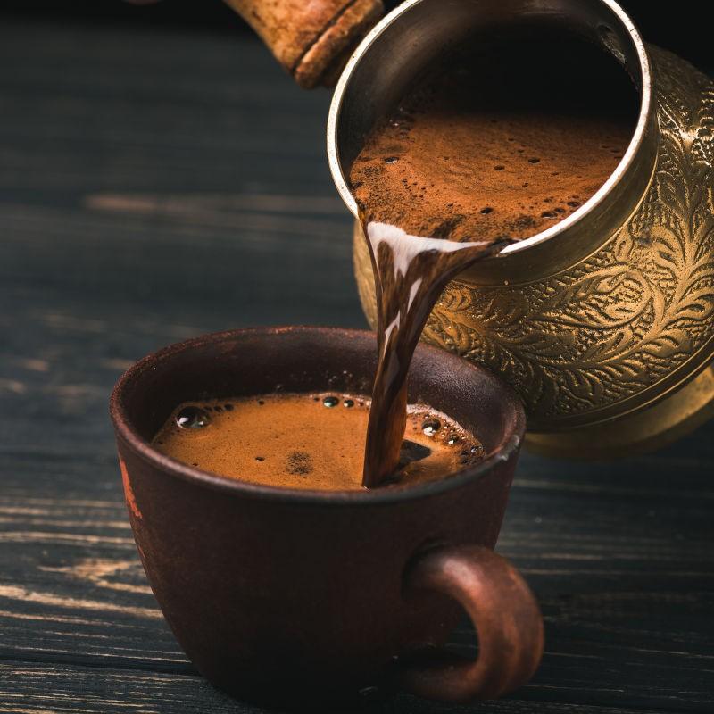 Mokka oder Türkischer Kaffee