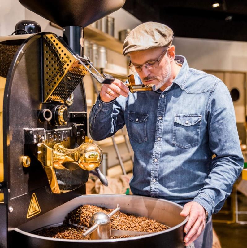 Kaffee Rösten lassen vom Profi