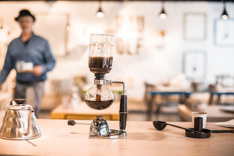 Syphon Kaffee