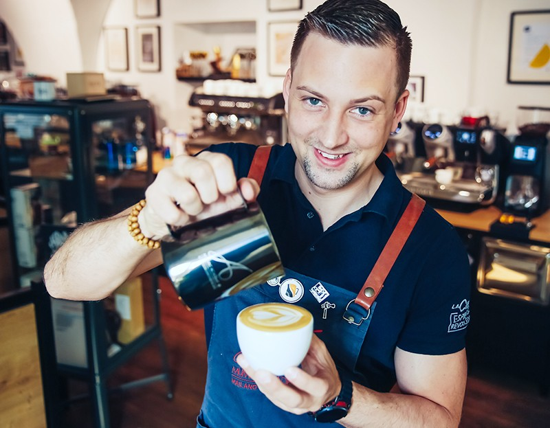 Latte-Art-Basics - 3 Std. mit Trainer Benjamin