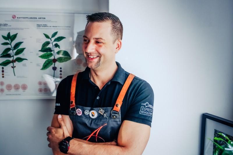 Benjamin Graf - Austrian Latte Art Champion